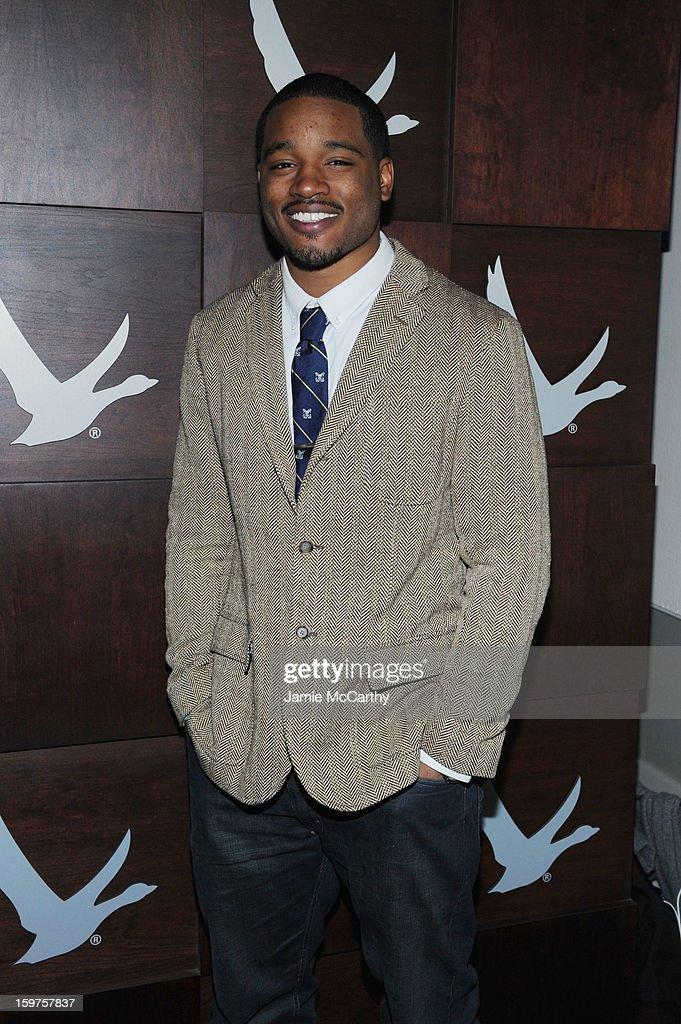 Director Ryan Coogler attends the Grey Goose Blue Door 'Fruitvale' Dinner on January 19, 2013 in Park City, Utah.