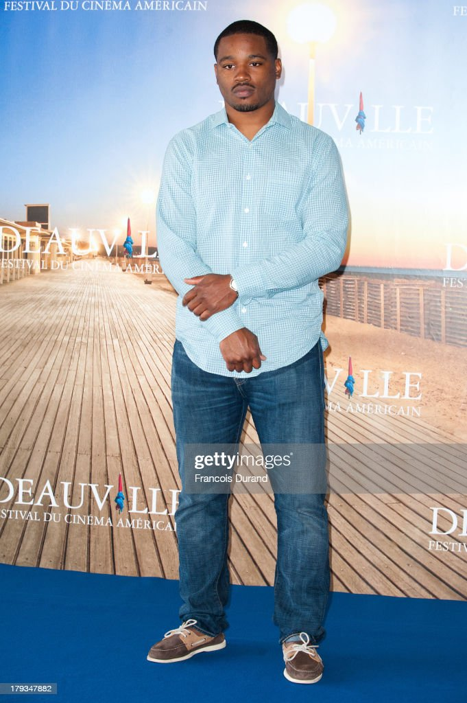 Director <a gi-track='captionPersonalityLinkClicked' href=/galleries/search?phrase=Ryan+Coogler&family=editorial&specificpeople=7316581 ng-click='$event.stopPropagation()'>Ryan Coogler</a> poses at a photocall for the movie 'Fruitvale Station' during the 39th Deauville American film festival on September 2, 2013 in Deauville, France.