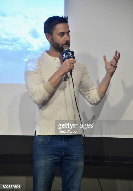 Director Ryan Eggold attends 'Literally Right Before Aaron' QA during the 2017 Nantucket Film Festival Day 4 on June 24 2017 in Nantucket...