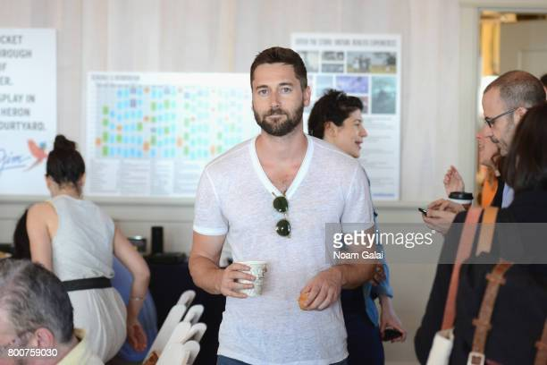 Director Ryan Eggold attends 'Morning Coffee' during the 2017 Nantucket Film Festival Day 5 on June 25 2017 in Nantucket Massachusetts