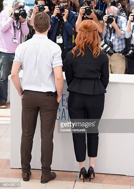 Director Ryan Gosling and actress Christina Hendricks attend the 'Lost River' photocall during the 67th Annual Cannes Film Festival on May 20 2014 in...
