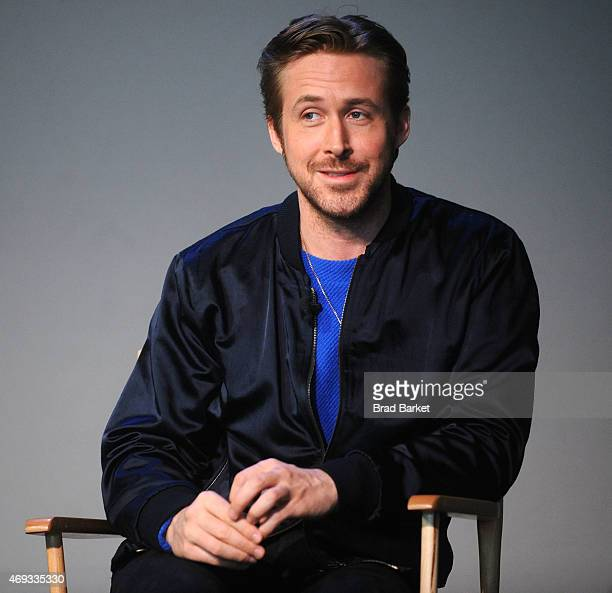 Director Ryan Gosling attends Apple Store Soho Presents Meet The Filmmaker Ryan Gosling 'Lost River' at Apple Store Soho on April 11 2015 in New York...