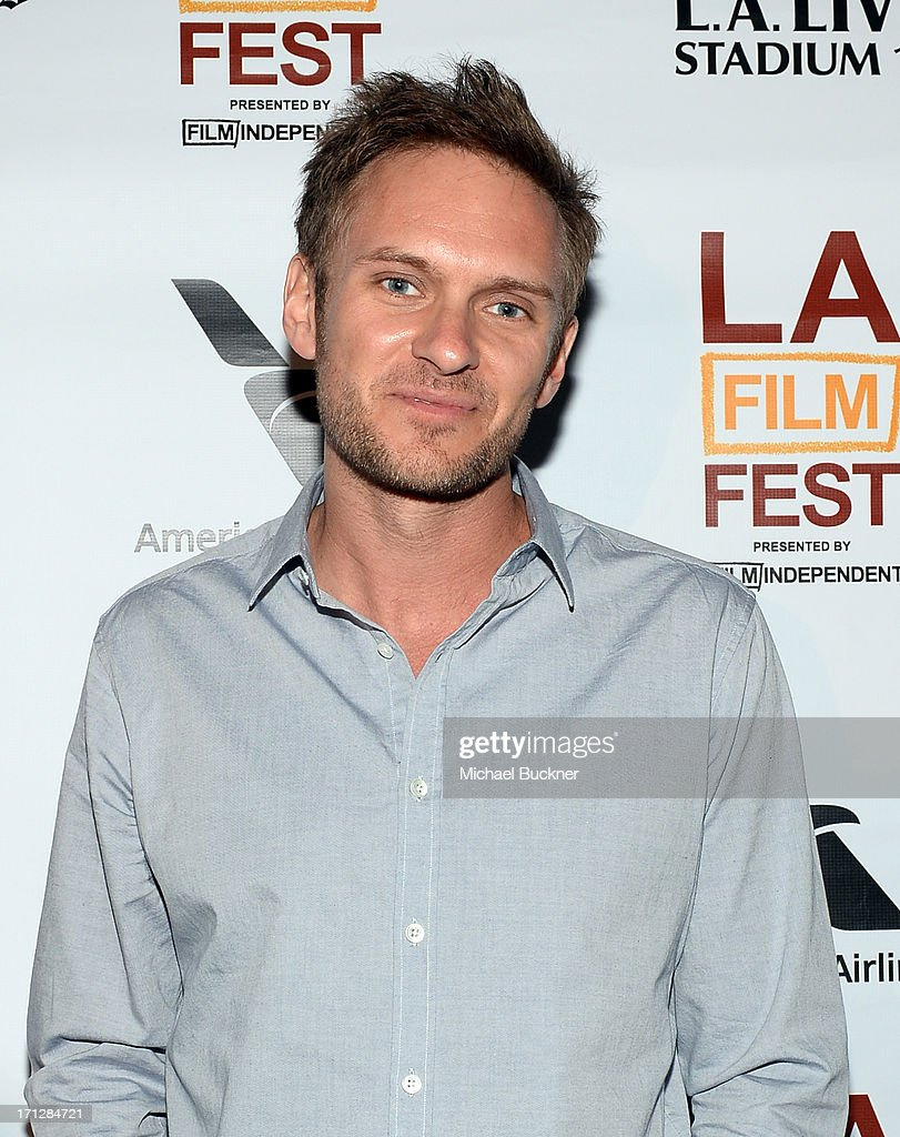 Director Ryan McGarry, winner of the DIRECTV Documentary Award (for Best Documentary Feature) for 'Code Black', attends the Awards Brunch during the 2013 Los Angeles Film Festival at Chaya Downtown on June 23, 2013 in Los Angeles, California.