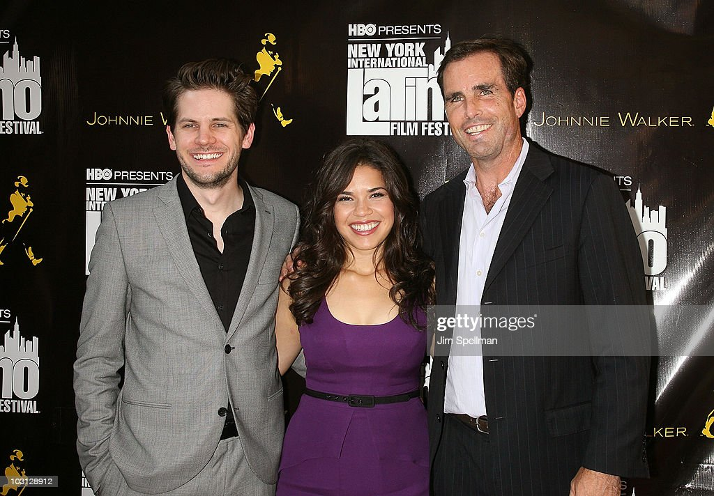 Director <a gi-track='captionPersonalityLinkClicked' href=/galleries/search?phrase=Ryan+Piers+Williams&family=editorial&specificpeople=4357030 ng-click='$event.stopPropagation()'>Ryan Piers Williams</a>, Actress America Ferrera and <a gi-track='captionPersonalityLinkClicked' href=/galleries/search?phrase=Bob+Woodruff&family=editorial&specificpeople=785978 ng-click='$event.stopPropagation()'>Bob Woodruff</a> attend the 2010 NYILFF Premiere of 'The Dry Land' at the School of Visual Arts Theater on July 27, 2010 in New York City.