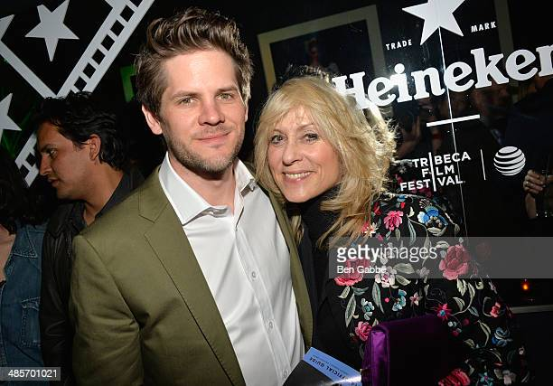 Director Ryan Piers Williams and Actress Judith Light attend the 'X/Y' Premiere after party during the 2014 Tribeca Film Festival hosted By Heineken...