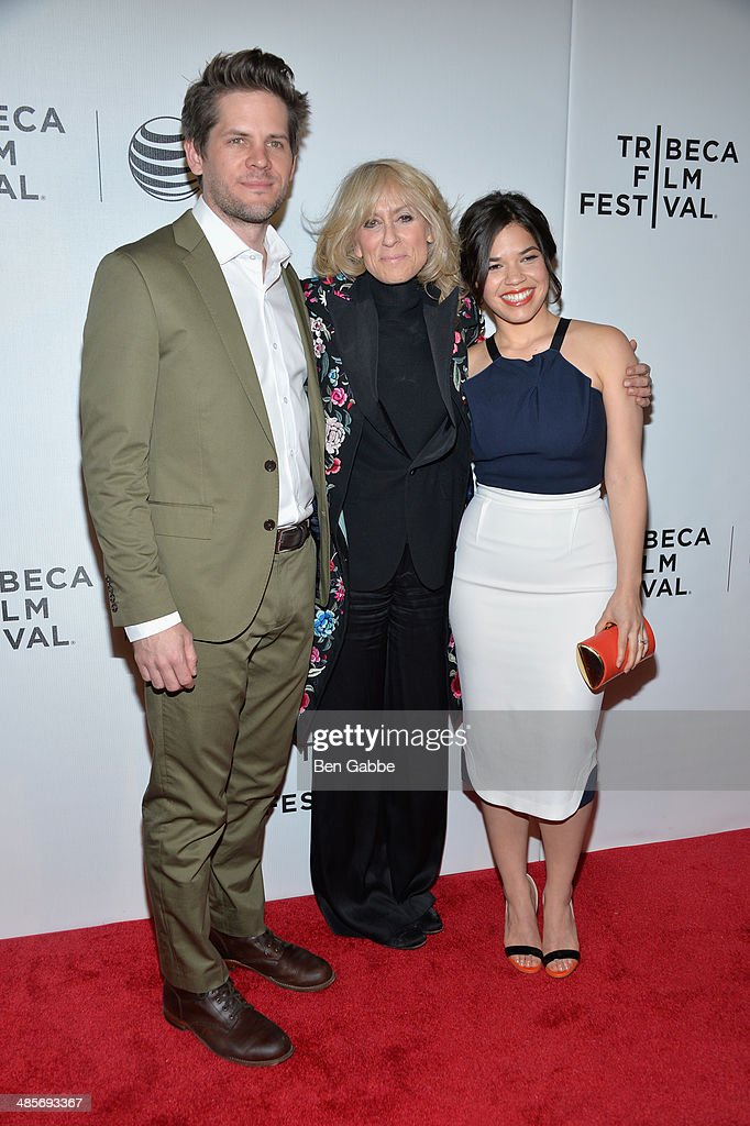 Director Ryan Piers Williams, Judith Light and actress/producer America Ferrera attend the 'X/Y' Premiere during the 2014 Tribeca Film Festival at BMCC Tribeca PAC on April 19, 2014 in New York City.