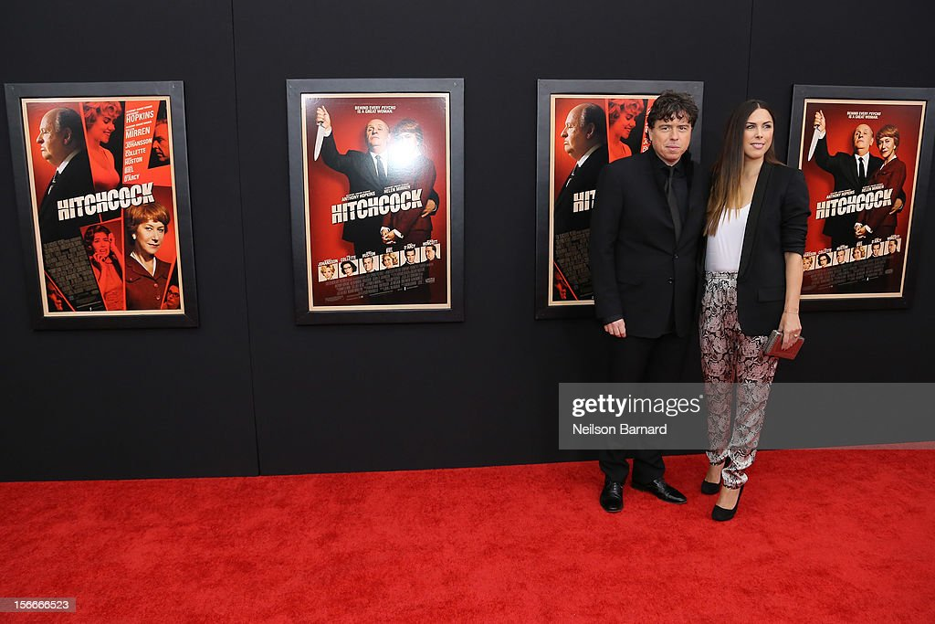 Director <a gi-track='captionPersonalityLinkClicked' href=/galleries/search?phrase=Sacha+Gervasi&family=editorial&specificpeople=4824031 ng-click='$event.stopPropagation()'>Sacha Gervasi</a> (L) and Jessica de Rothschild attend the 'Hitchcock' New York Premiere at Ziegfeld Theater on November 18, 2012 in New York City.