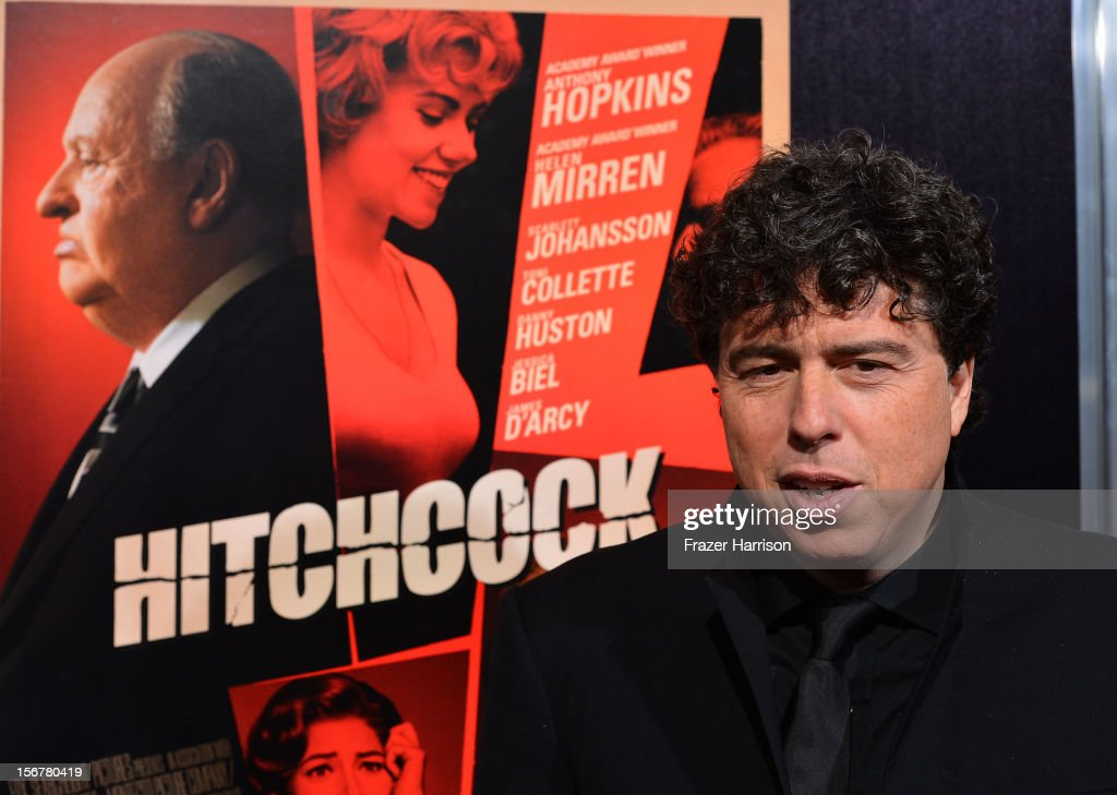 Director <a gi-track='captionPersonalityLinkClicked' href=/galleries/search?phrase=Sacha+Gervasi&family=editorial&specificpeople=4824031 ng-click='$event.stopPropagation()'>Sacha Gervasi</a> arrives at the Premiere Of Fox Searchlight Pictures' 'Hitchcock' at AMPAS Samuel Goldwyn Theater on November 20, 2012 in Beverly Hills, California.