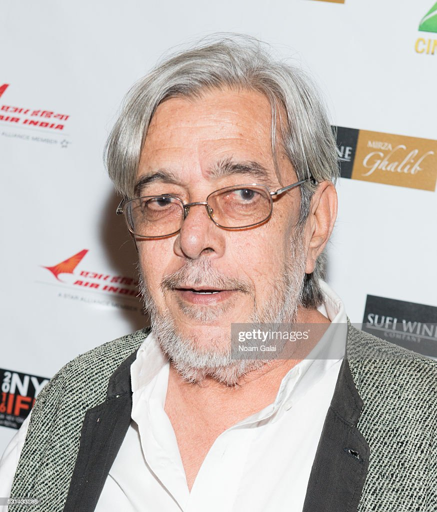 Director Saeed Akhtar Mirza attends the closing night of the 16th Annual New York Indian Film Festival at Jack H. Skirball Center for the Performing Arts on May 14, 2016 in New York City.