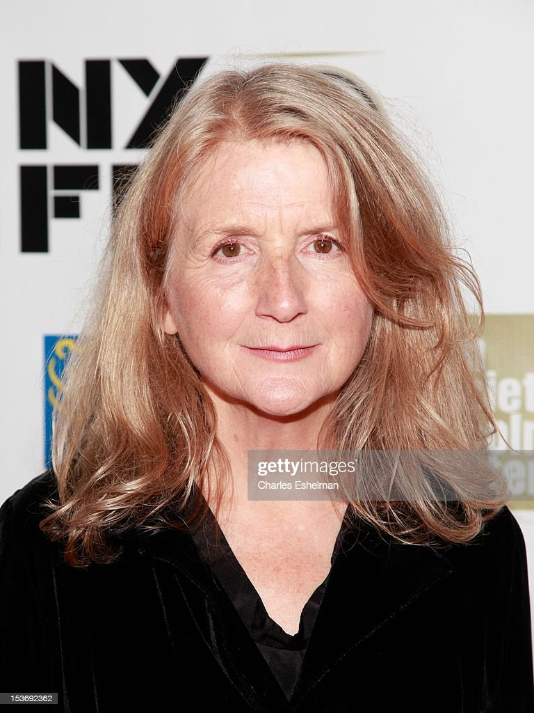 Director Sally Potter attends the 'Ginger And Rosa' premiere during the 50th New York Film Festival at Alice Tully Hall at Lincoln Center on October 8, 2012 in New York City.