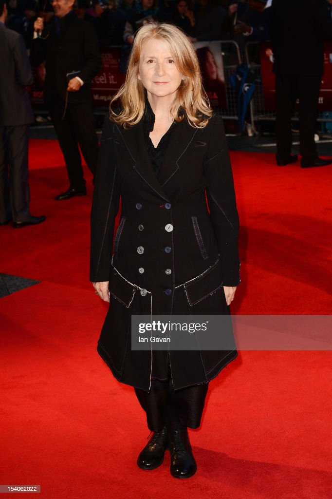 Director Sally Potter attends the premiere of 'Ginger and Rosa' during the 56th BFI London Film Festival at Odeon West End on October 13, 2012 in London, England.