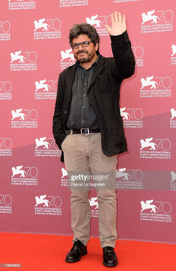 Director Salvo Cuccia attends the 'Summer 82 When Zappa Came To Sicily' Photocall during The 70th Venice International Film Festival at Palazzo Del Casino on August 30, 2013 in Venice, Italy.