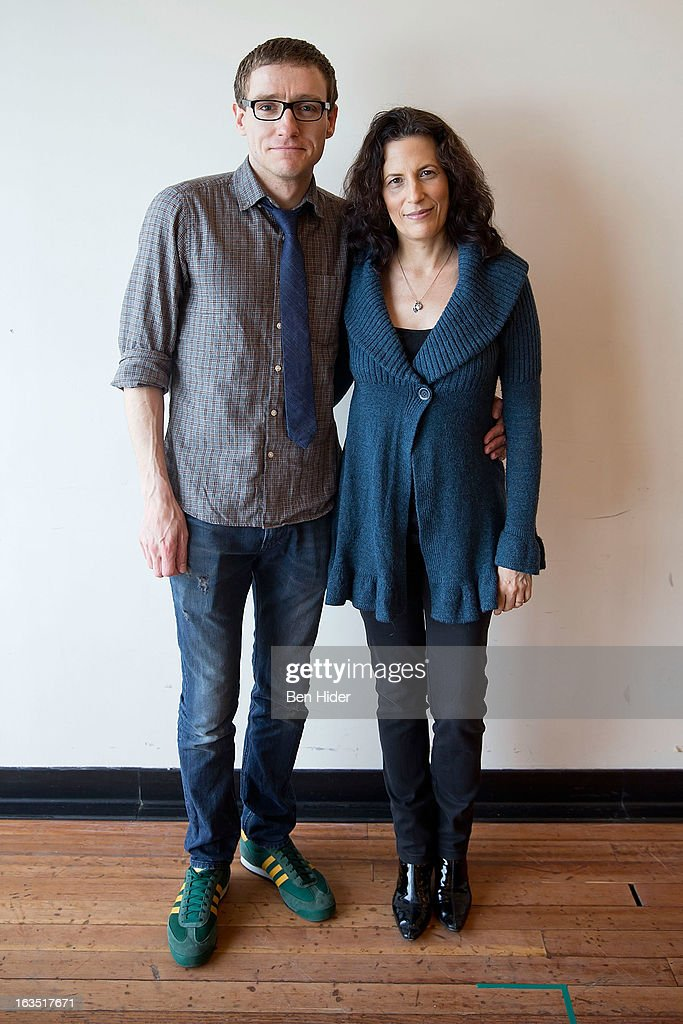 Director Sam Buntrock and Playwright Kara Manning attend the 'Sleeping Rough' Cast Photo Call at Playwrights Horizon's North Rehearsal Studio on March 11, 2013 in New York City.