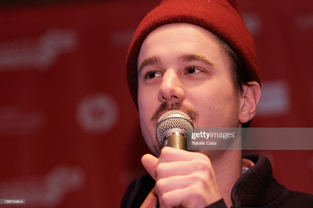 Director Sam de Jong speaks onstage during the World Welcome Brunch at New Frontier on January 18, 2013 in Park City, Utah.