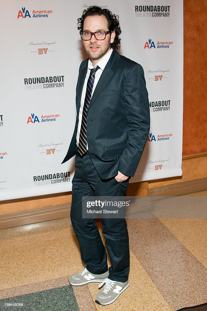 Director Sam Gold attends 'Picnic' Broadway Opening Night at American Airlines Theatre on January 13, 2013 in New York City.