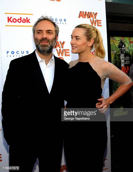 Director Sam Mendes and actress Kate winslet attends the 'Away We Go' New York screening at Landmark's Sunshine Cinema on June 1 2009 in New York City