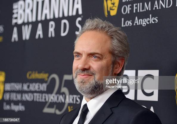 Director Sam Mendes arrives at the 2012 BAFTA Los Angeles Britannia Awards Presented By BBC AMERICA at The Beverly Hilton Hotel on November 7 2012 in...