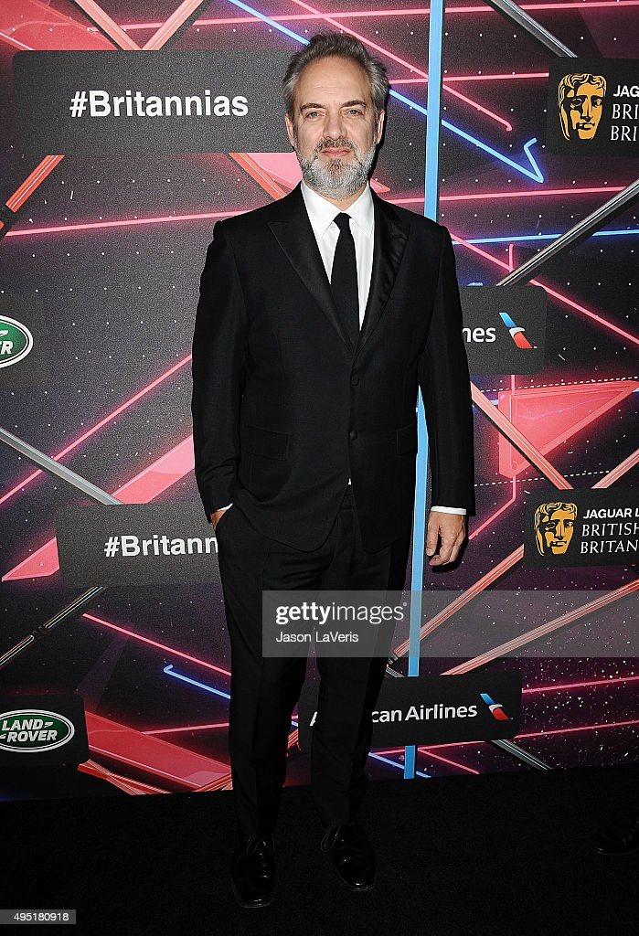 Director Sam Mendes attends the 2015 British Academy Britannia Awards at The Beverly Hilton Hotel on October 30, 2015 in Beverly Hills, California.