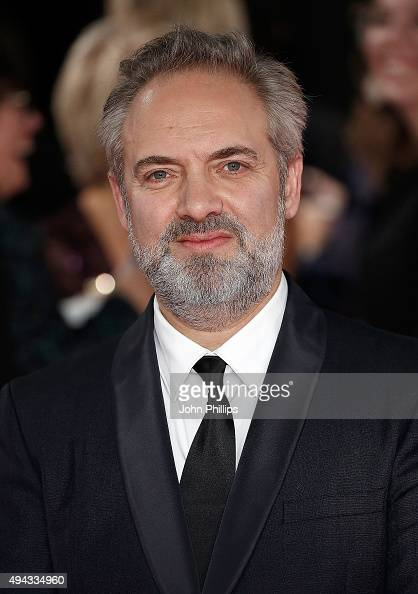 Director Sam Mendes attends the Royal Film Performance of 'Spectre'at Royal Albert Hall on October 26 2015 in London England
