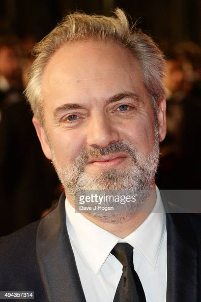 Director Sam Mendes attends the Royal World Premiere of 'Spectre' at Royal Albert Hall on October 26 2015 in London England