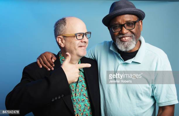 Director Sam Pollard and Executive Producer Michael Kantor of 'Sammy Davis Jr I've Got to be Me' are photographed at the 2017 Toronto Film Festival...