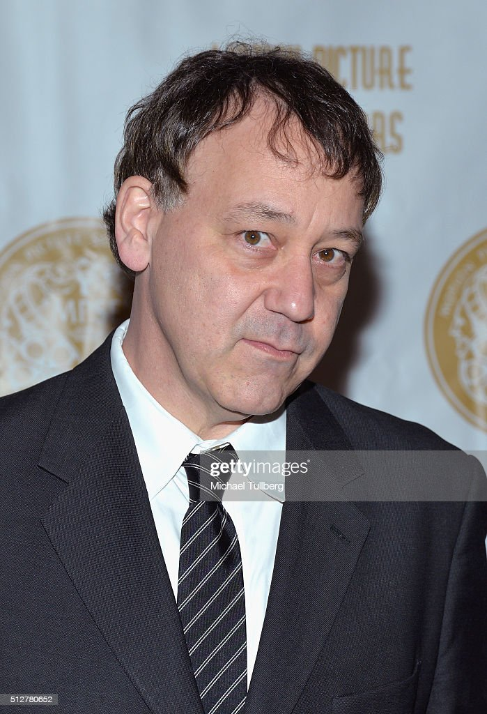 Director <a gi-track='captionPersonalityLinkClicked' href=/galleries/search?phrase=Sam+Raimi&family=editorial&specificpeople=215417 ng-click='$event.stopPropagation()'>Sam Raimi</a> attends the 63rd MPSE Golden Reel Awards at Westin Bonaventure Hotel on February 27, 2016 in Los Angeles, California.