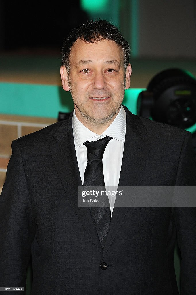 Director <a gi-track='captionPersonalityLinkClicked' href=/galleries/search?phrase=Sam+Raimi&family=editorial&specificpeople=215417 ng-click='$event.stopPropagation()'>Sam Raimi</a> attends the 'Oz: the Great and Powerful' Japan Premiere at Roppongi Hills on February 20, 2013 in Tokyo, Japan.