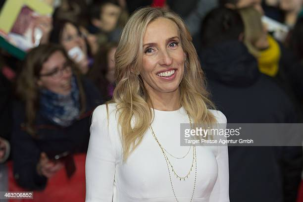 Director Sam TaylorJohnson attends the 'Fifty Shades of Grey' premiere during the 65th Berlinale International Film Festival at Zoo Palast on...