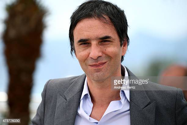 Director Samuel Benchetrit attends a photocall for 'Asphalte' during the 68th annual Cannes Film Festival on May 17 2015 in Cannes France