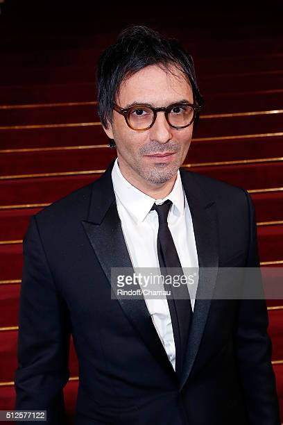 Director Samuel Benchetrit attends the Cesar Film Award 2016 at Theatre du Chatelet on February 26 2016 in Paris France