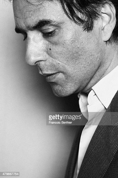 Director Samuel Benchetrit is photographed for Self Assignment on May 15 2015 in Cannes France