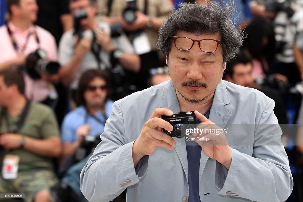 Director Sangsoo Hong attends the 'Ha Ha Ha' Photocall at the Palais des Festivals during the 63rd Annual Cannes Film Festival on May 21, 2010 in Cannes, France.