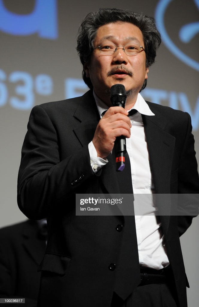 Director Sangsoo Hong attends the Un Certain Regard Palm d'Or ceremony for the film 'Ha Ha Ha' at the Palais des Festivals during the 63rd Annual Cannes Film Festival on May 22, 2010 in Cannes, France.