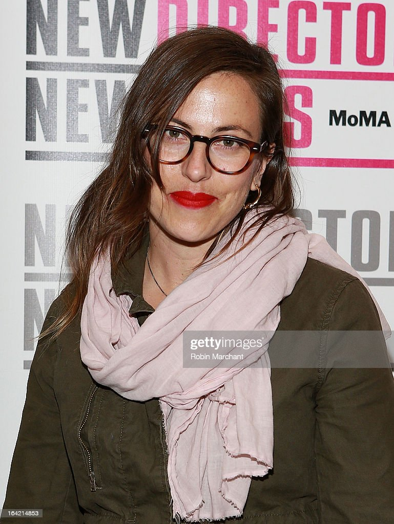 Director Sarah Shapiro attends the New Directors/New Films 2013 Opening Night screening of 'Blue Caprice' at the Museum of Modern Art on March 20, 2013 in New York City.