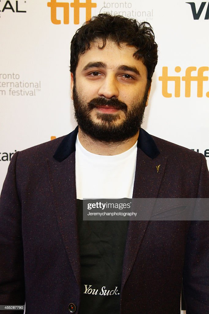 Director Sarik Andreasyan arrives at the 'American Heist' Premiere during the 2014 Toronto International Film Festival held at the Princess of Wales Theatre on September 11, 2014 in Toronto, Canada.