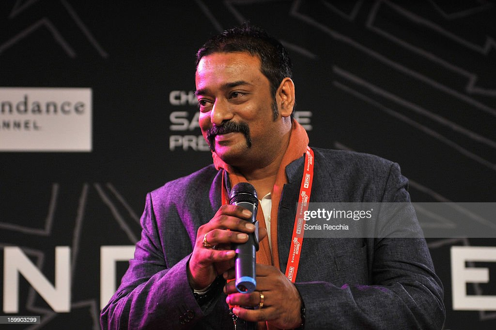 Director Sarthak Dasgupta speaks onstage during the Sundance Institute Mahindra Global Filmmaking Award Reception at Sundance House on January 22, 2013 in Park City, Utah.