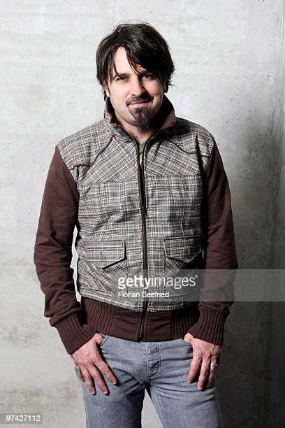 Director Scandar Copti poses for a picture at a portrait session for his new movie 'Ajami' at cinema Kulturbrauerei on March 3 2010 in Berlin Germany
