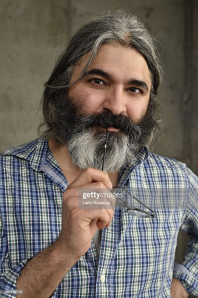 Director/ screenwriter/ actor Onur Tukel from 'Summer of Blood' poses for the Tribeca Film Festival Getty Images Studio on April 22, 2014 in New York City.