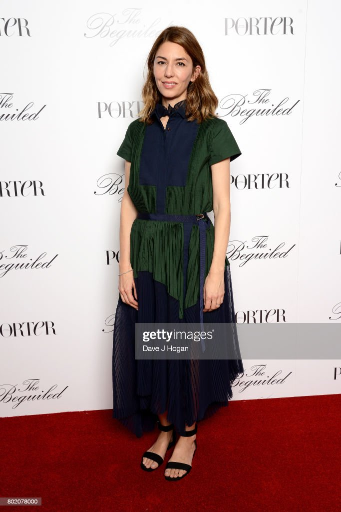 Director, screenwriter and producer Sofia Coppola attends the screening of 'The Beguiled' at Picturehouse Central on June 27, 2017 in London, England.