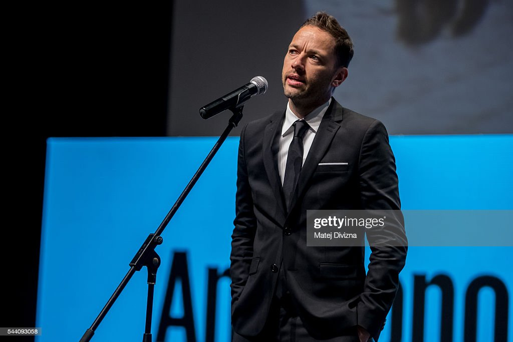 Director Sean Ellis attends world premiere of Anthropoid movie during the opening ceremony of the 51st Karlovy Vary International Film Festival (KVIFF) on July 1, 2016 in Karlovy Vary, Czech Republic.