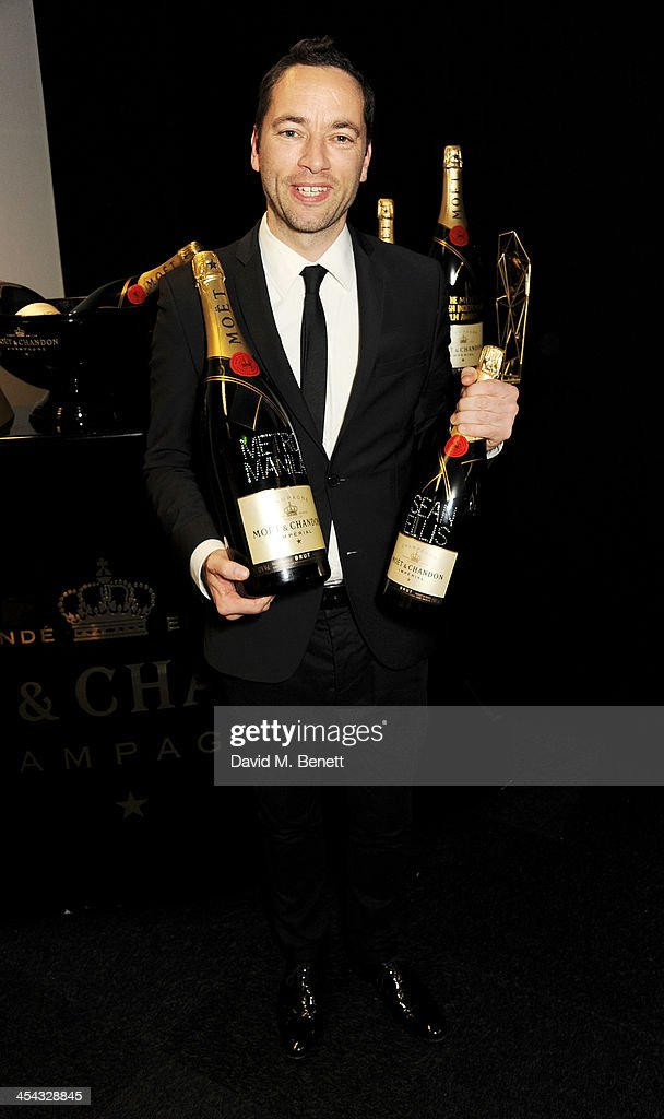 Director Sean Ellis, winner of the Best British Independent Film Award for 'Metro Manila', poses backstage at the Moet British Independent Film Awards 2013 at Old Billingsgate Market on December 8, 2013 in London, England.