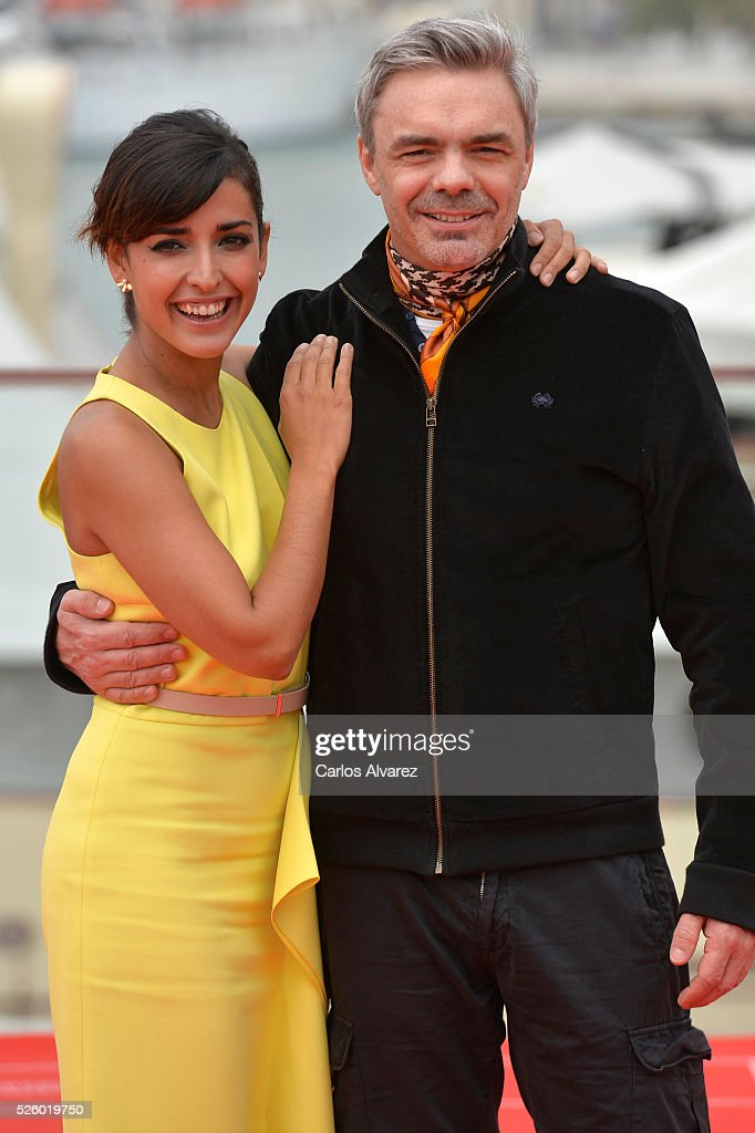 Director Sebastian Borensztein and actress Inma Cuesta attend 'Koblic' photocall duing the 19th Malaga Film Festival on April 29, 2016 in Malaga, Spain.