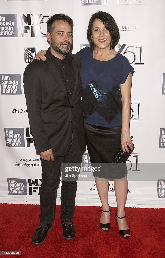 Director Sebastian Lelio and actress Paulina Garcia attend the Centerpiece Gala Presentation Of 'The Secret Life Of Walter Mitty' during the 51st New...