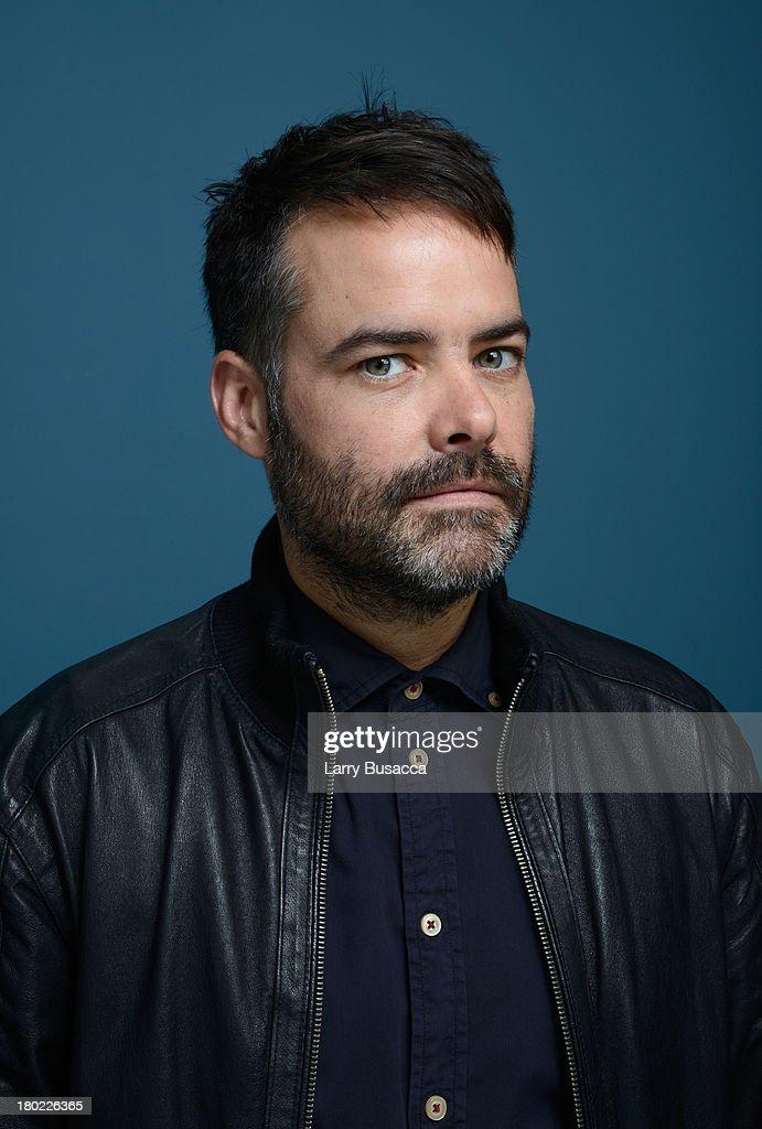 Director Sebastián Lelio of 'Gloria' poses at the Guess Portrait Studio during 2013 Toronto International Film Festival on September 10 2013 in...