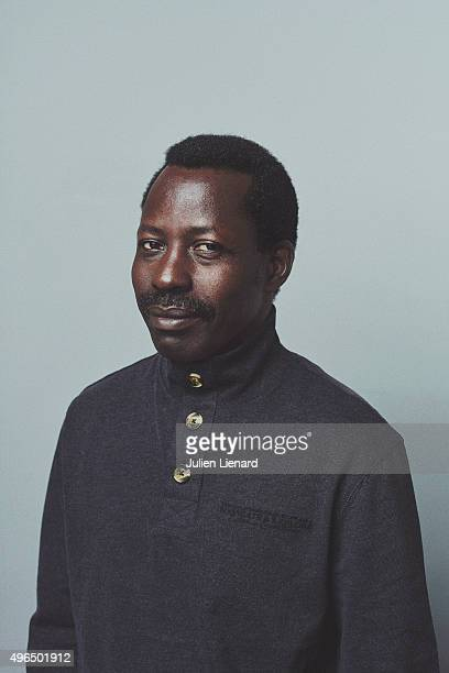 Director Sekou Traore is photographed for Self Assignment on October 5 2015 in Namur Belgium