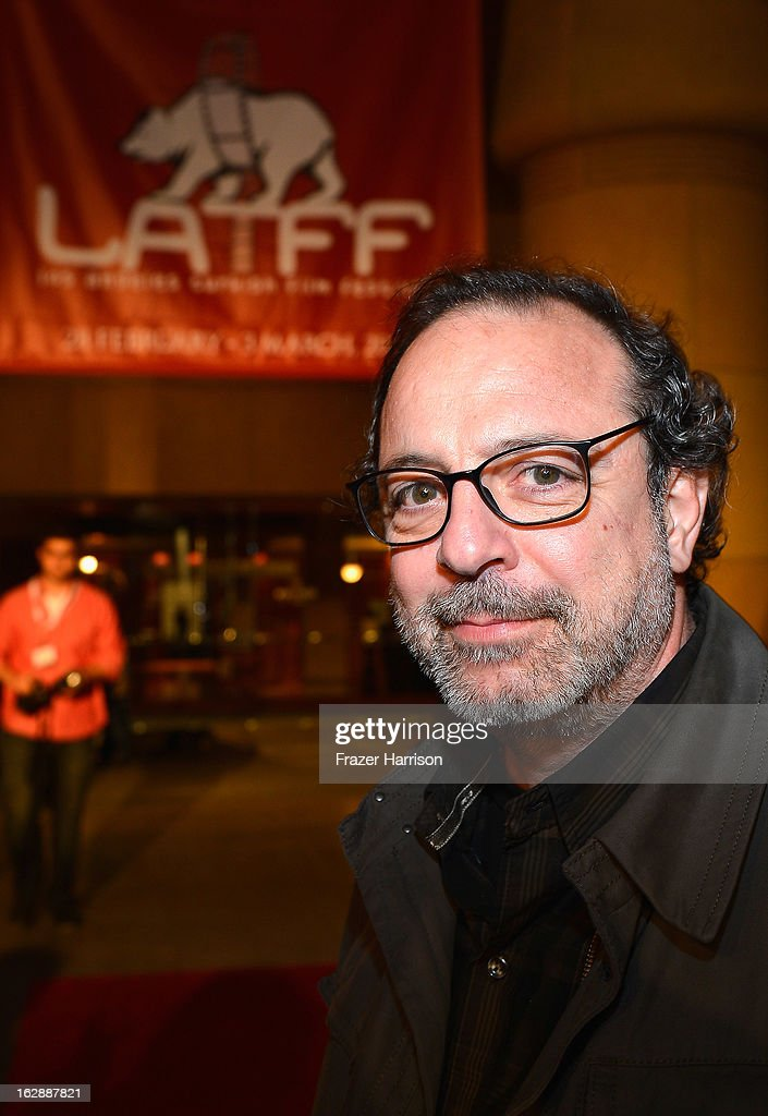 Director Semih Kaplanoglu arrives at the 2013 Los Angeles Turkish Film Festival Opening Night Premiere Of 'The Butterfly's Dream' - Red Carpet at the Egyptian Theatre on February 28, 2013 in Hollywood, California.