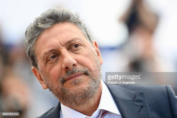 Director Sergio Castellitto attends the 'Fortunata' photocall during the 70th annual Cannes Film Festival at Palais des Festivals on May 21 2017 in...