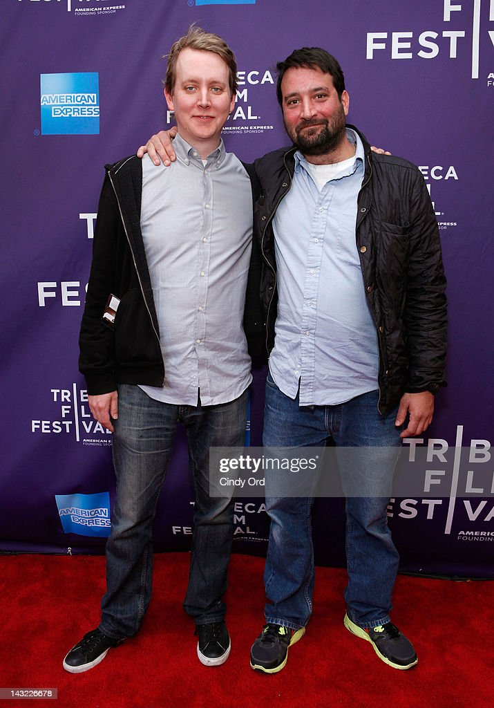 Director Seth Keal and producer Charles Miller of the film 'CatCam' attend 'Help Wanted' Shorts Program during the 2012 Tribeca Film Festival at the AMC Lowes Village on April 21, 2012 in New York City.