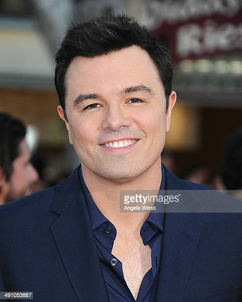 Director Seth MacFarlane attends the premiere of 'A Million Ways To Die In The West' presented by Budweiser at Regency Village Theatre on May 15 2014...