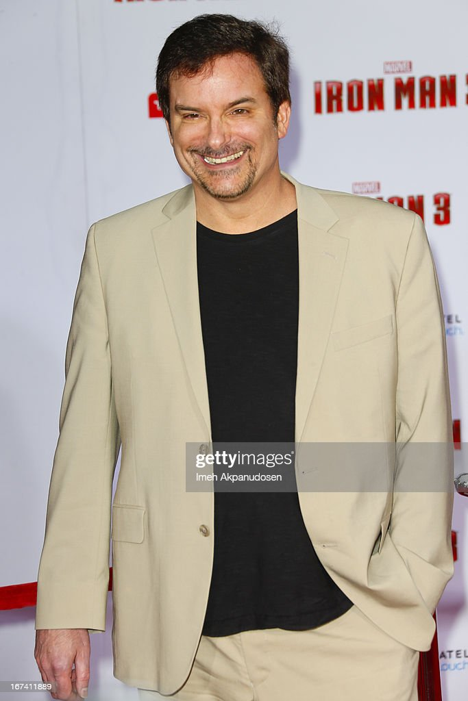 Director Shane Black attends the premiere of Walt Disney Pictures' 'Iron Man 3' at the El Capitan Theatre on April 24, 2013 in Hollywood, California.